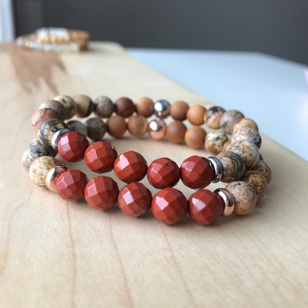 Rooted Diffuser Bracelet {in stainless}