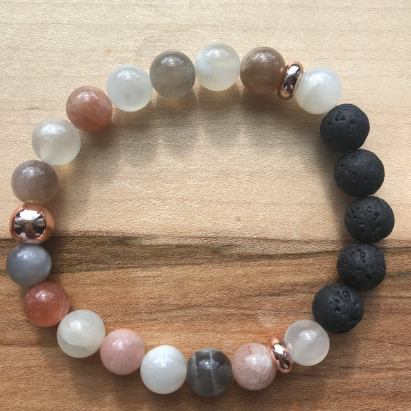 In Dreams (Rose Gold) Diffuser Bracelet