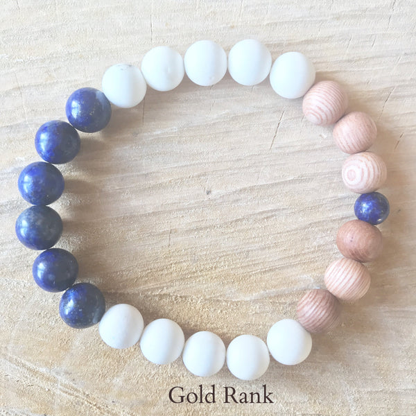 Rank Advancements Diffuser Bracelet - The Organic South