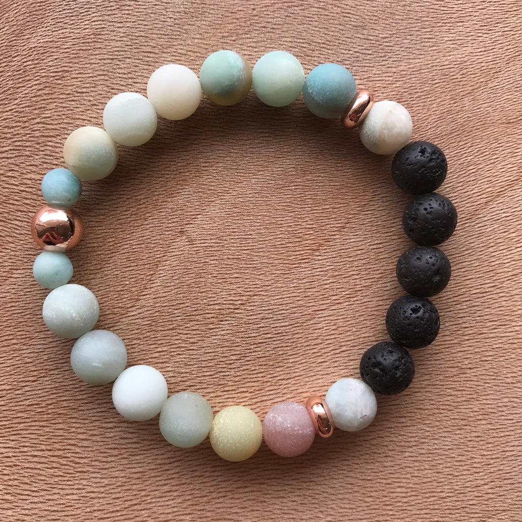 You do You {Rose Gold} Diffuser Bracelet