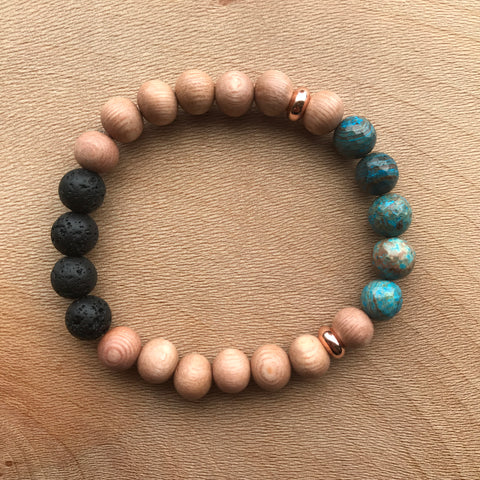 Dwell {Rose Gold} Diffuser Bracelet