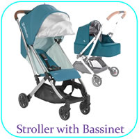 Stroller with Bassinet