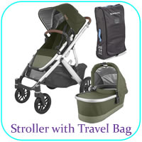 Stroller with Travel Bag