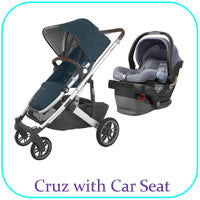 Cruz with Car Seat