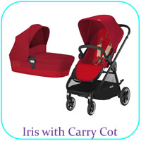 Iris with Carry Cot
