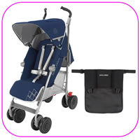 Techno XT Stroller with Black Organizer