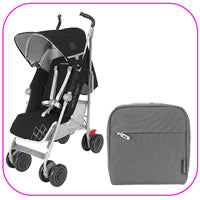 Techno XT Stroller with Pannier Bag