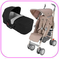 Techno XT Stroller with CarryCot