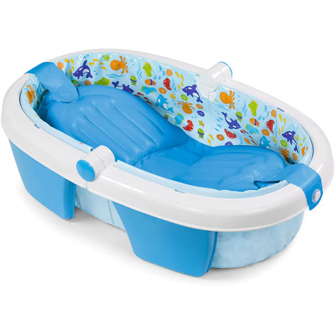 Summer Infant Foldaway Baby Bath - Blue