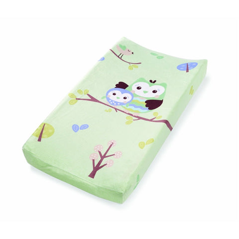 Summer Infant Plush Pals Changing Pad Cover Owls