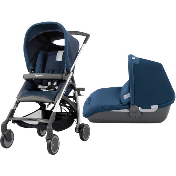 Inglesina Avio Stroller With Bassinet, Navy