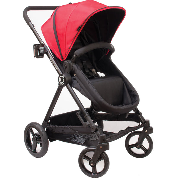 Contours Bliss 4-in-1 Stroller System, Crimson