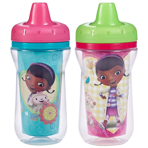 Disney Doc Mc Stuffins Insulated Sippy Cups 2 Pack