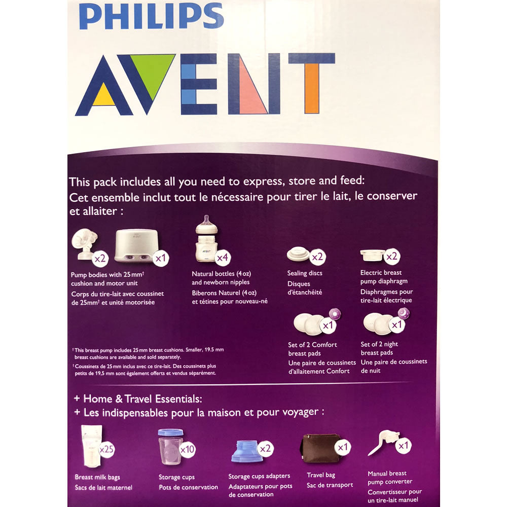 Philips Avent Double Electric Comfort Breast Pump Ny Baby Store
