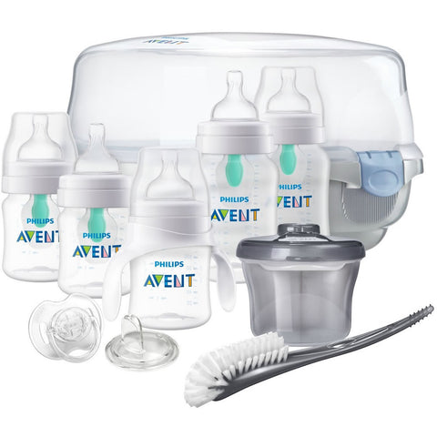 Philips Avent Anti-colic Baby Bottle with AirFree vent Gift Set Essentials