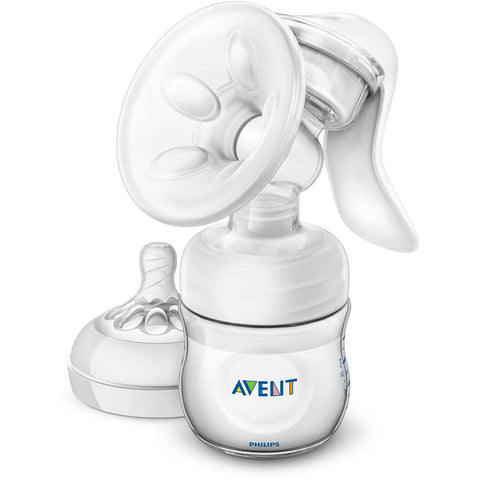 Philips Avent BPA Free Manual Breast Pump, Clear