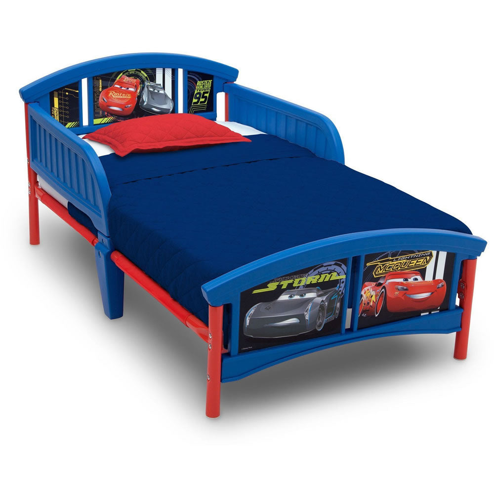 Delta Children Plastic Toddler Bed, Pixar Cars