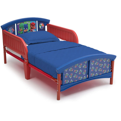 Delta Children Plastic Toddler Bed, PJ Masks