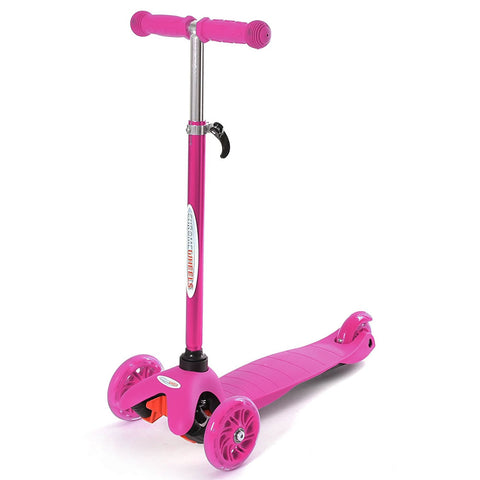 Chrome Wheels Mini Plus Glidekick Scooter - Pink