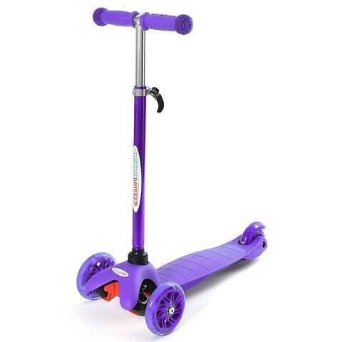 Chrome Wheels Mini Plus Glidekick Scooter - Purple