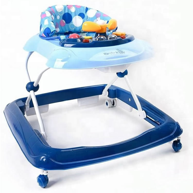 Wonder Buggy Baby Walker - Blue