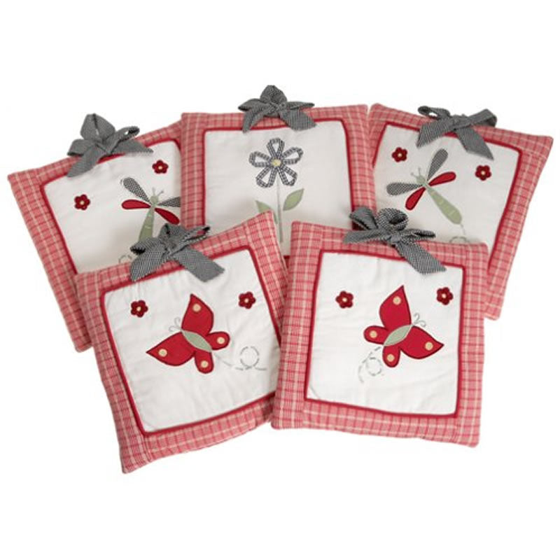 Lambs & Ivy Secret Garden Wall Hanging Set Of 5
