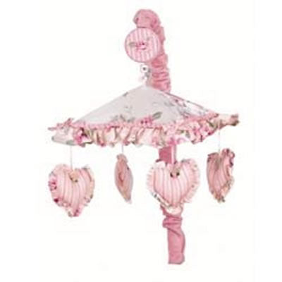 Lambs & Ivy Vintage Baby Musical Mobile