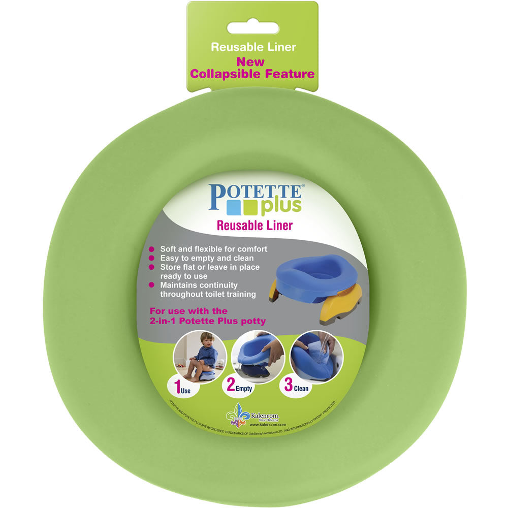 Kalencom Potette Plus Reusable Liner, Green