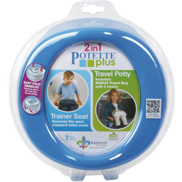 Kalencom 2-in-1 Potette Plus - Blue
