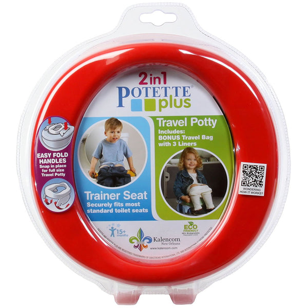 Kalencom 2-in-1 Potette Plus - Red