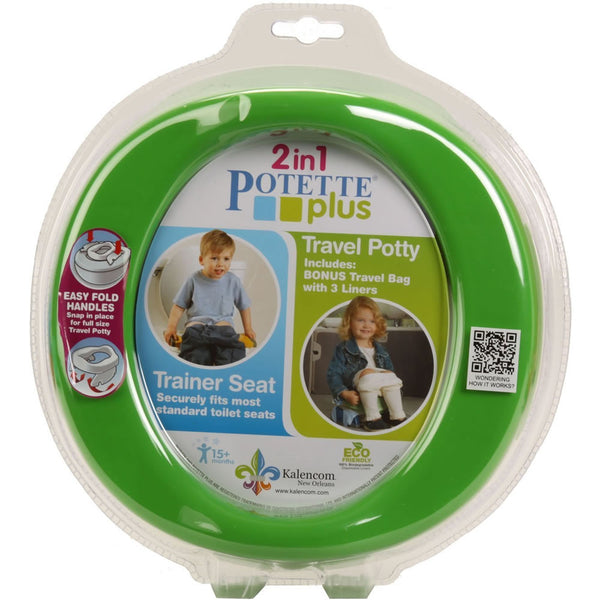 Kalencom 2-in-1 Potette Plus - Green