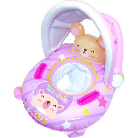 Nai-B K Hamster Cushion Parasol Baby Walker Swim Tube - Pink
