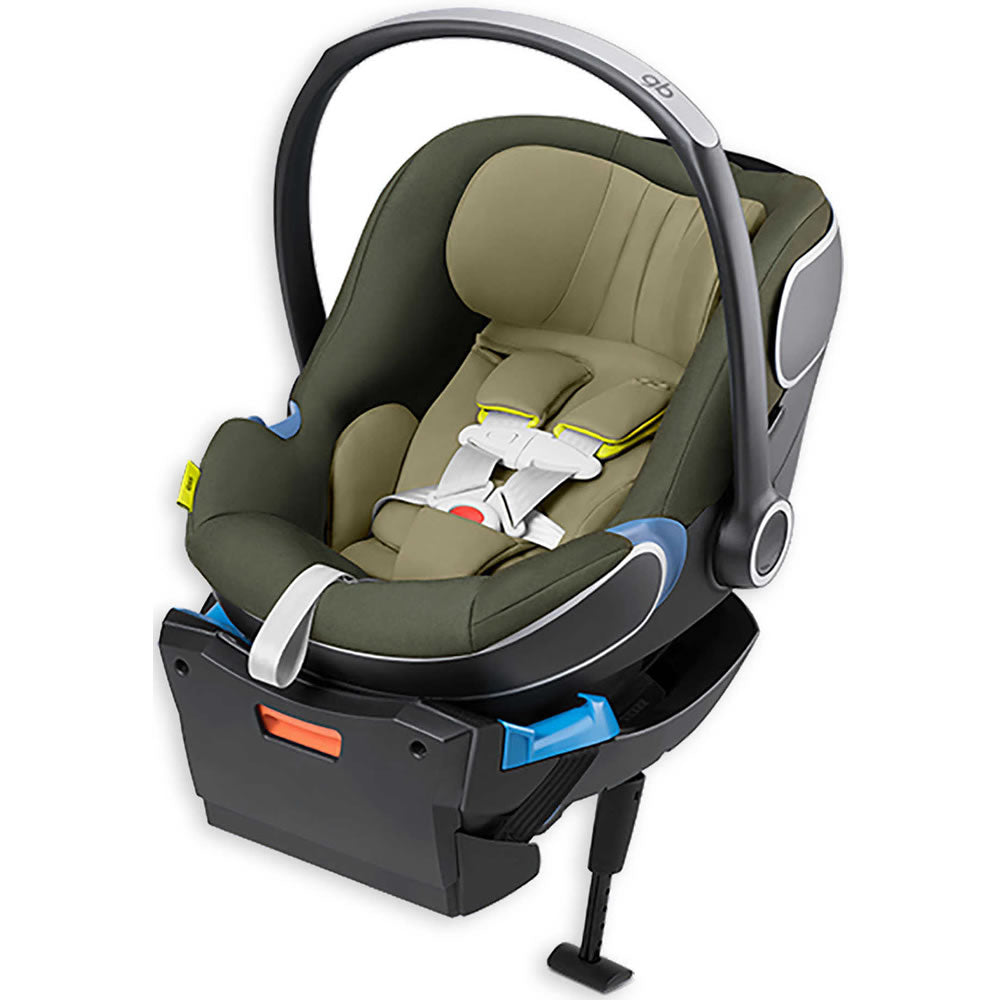 GB Idan Infant Car Seat with Load Leg Base - Lizard Khaki