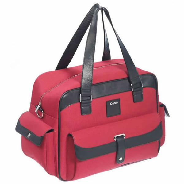 iCandy Stroller Changing Bag and Diaper Bag -Tomato