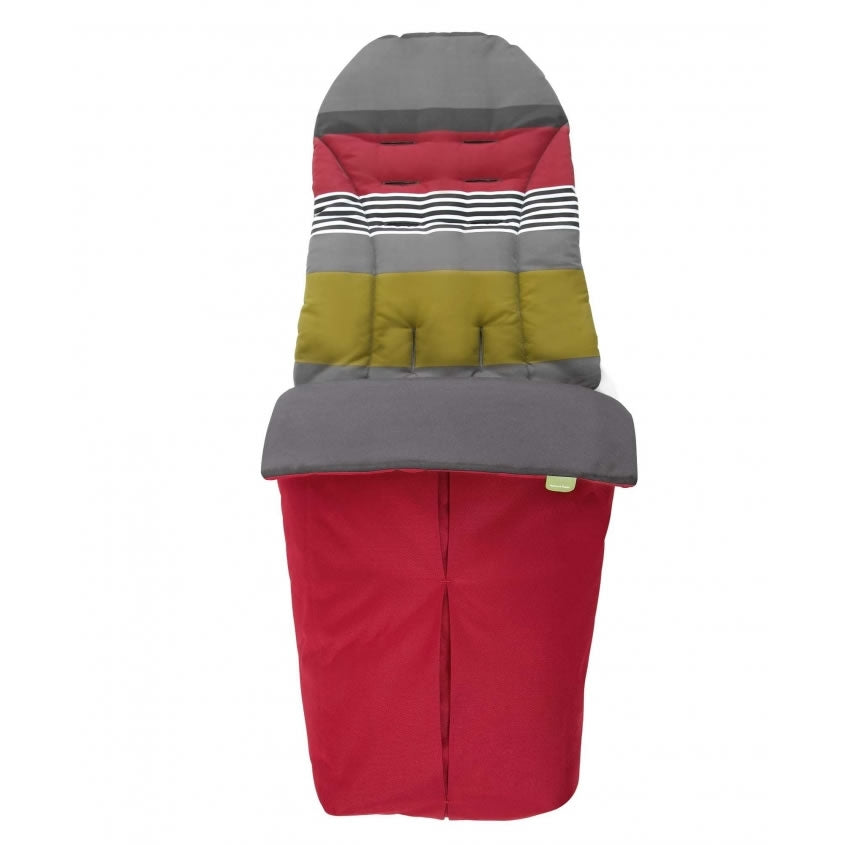 Mamas & Papas Sola Stroller Footmuff - Red