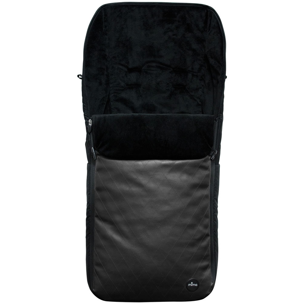 Mima BO Footmuff in Black