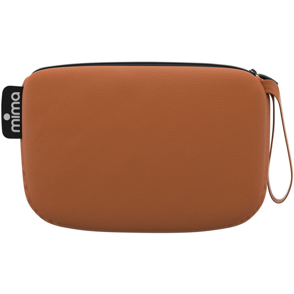 Mima Clutch Bag - Camel