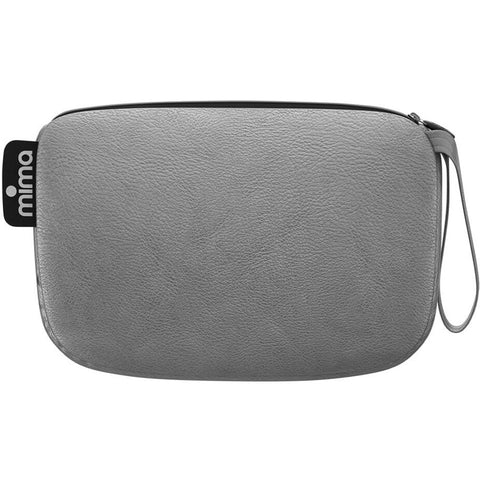 Mima Clutch Bag - Argento