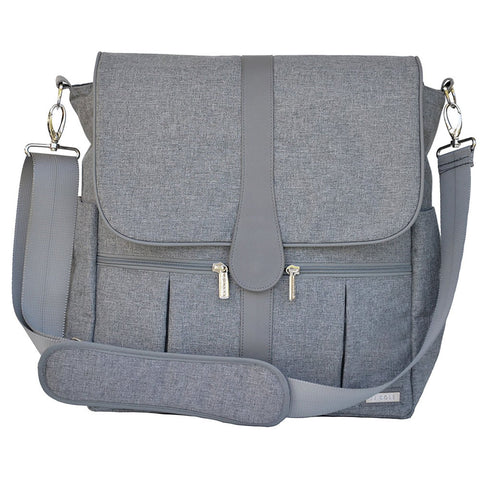 JJ Cole Collections Backpack Diaper Bag, Gray Heather