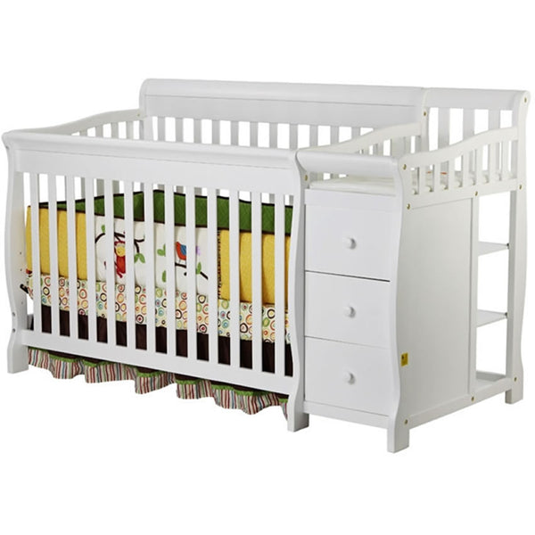 Dream On Me 4 in 1 Brody Convertible Crib with Change, White