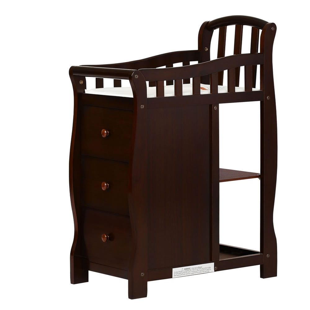 ... Dream On Me Casco 3 In 1 Mini Crib And Changer In Espresso ...