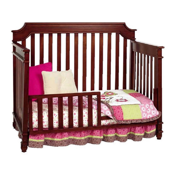 Bonavita Newcastle Convertible Crib Rustic Cherry Ny