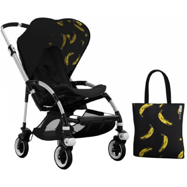Bugaboo Bee3 Andy Warhol Accessory Pack - Black/Banana