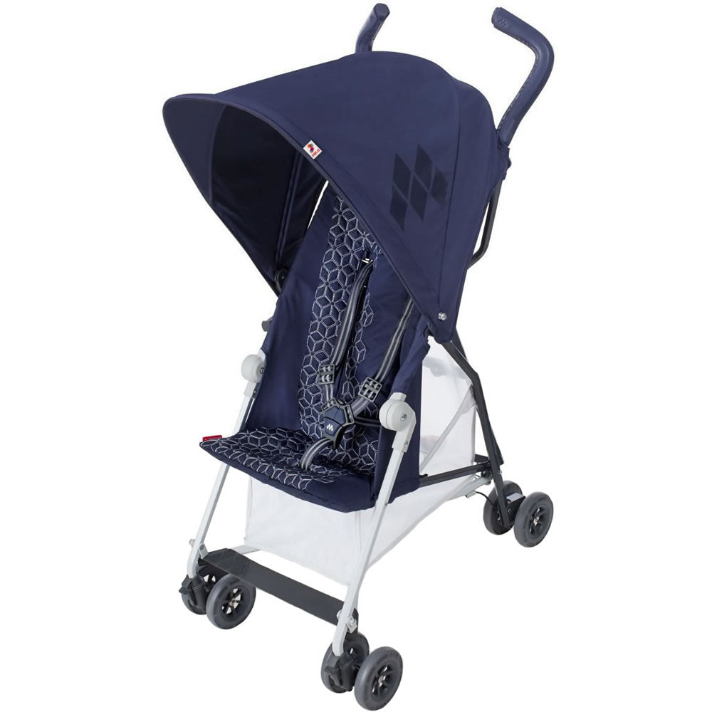 Maclaren 2018 Mark II with Recline Stroller, Midnight Navy