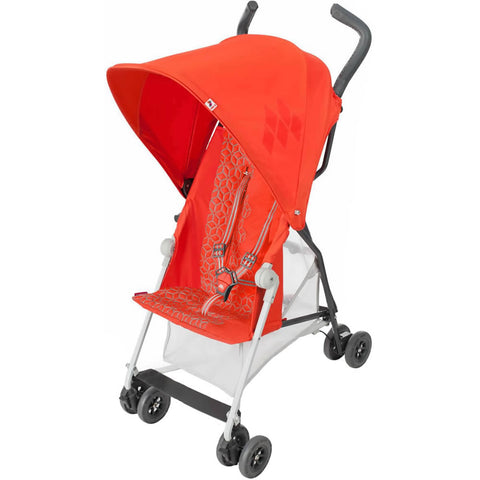 Maclaren 2018 Mark II with Recline Stroller, Spicy Orange