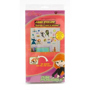 Priss Prints Kim Possible Jumbo Stick Ups