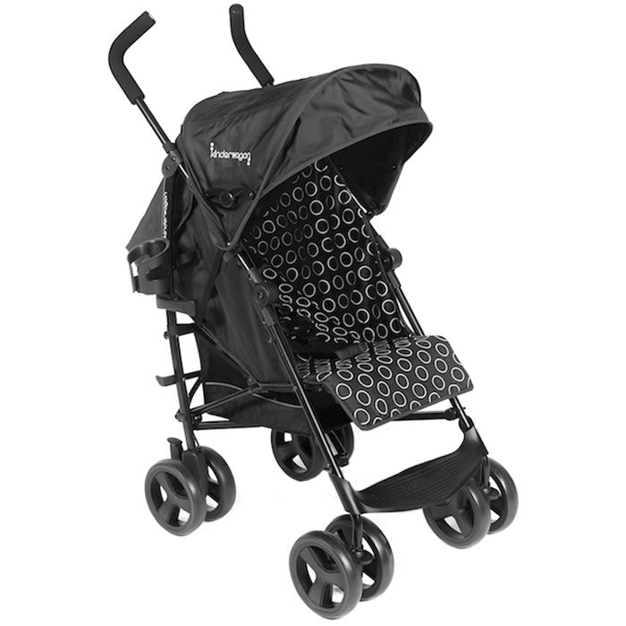Kinderwagon Skip Umbrella Stroller, Black