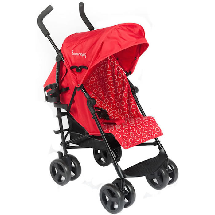 Kinderwagon Skip Umbrella Stroller, Red