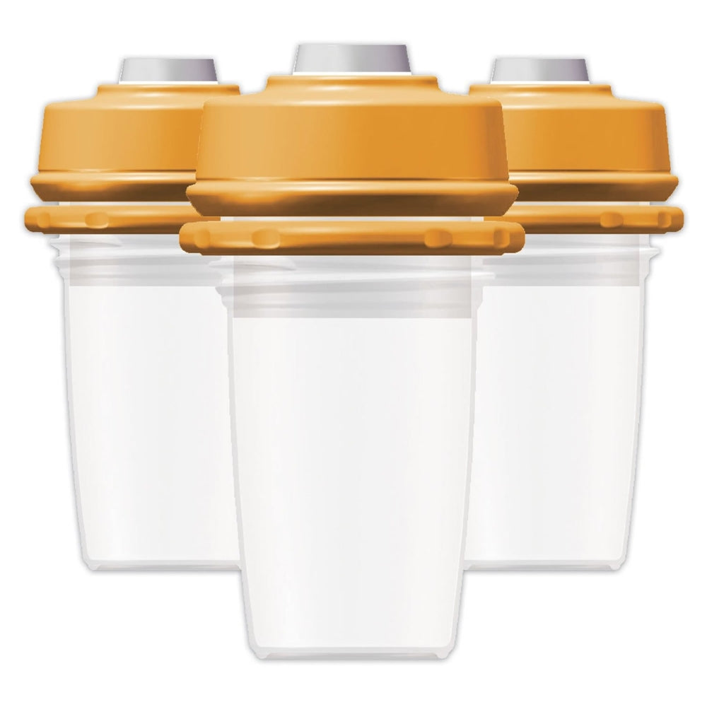 MilkBank Vacuum Storage 5 oz - 3-Pack