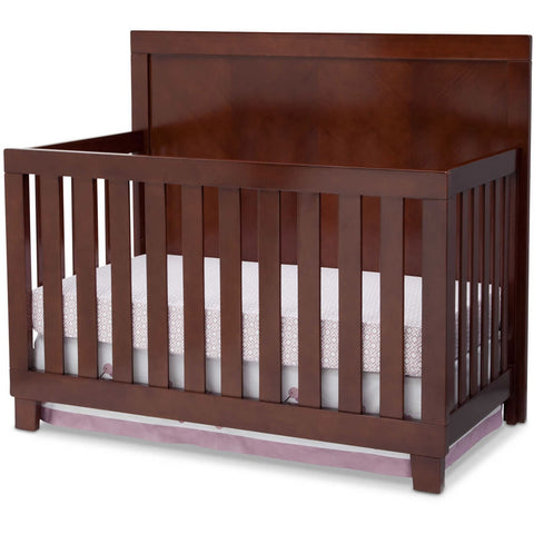 Simmons Kids Bellante Convertible Crib in Espresso Truffle
